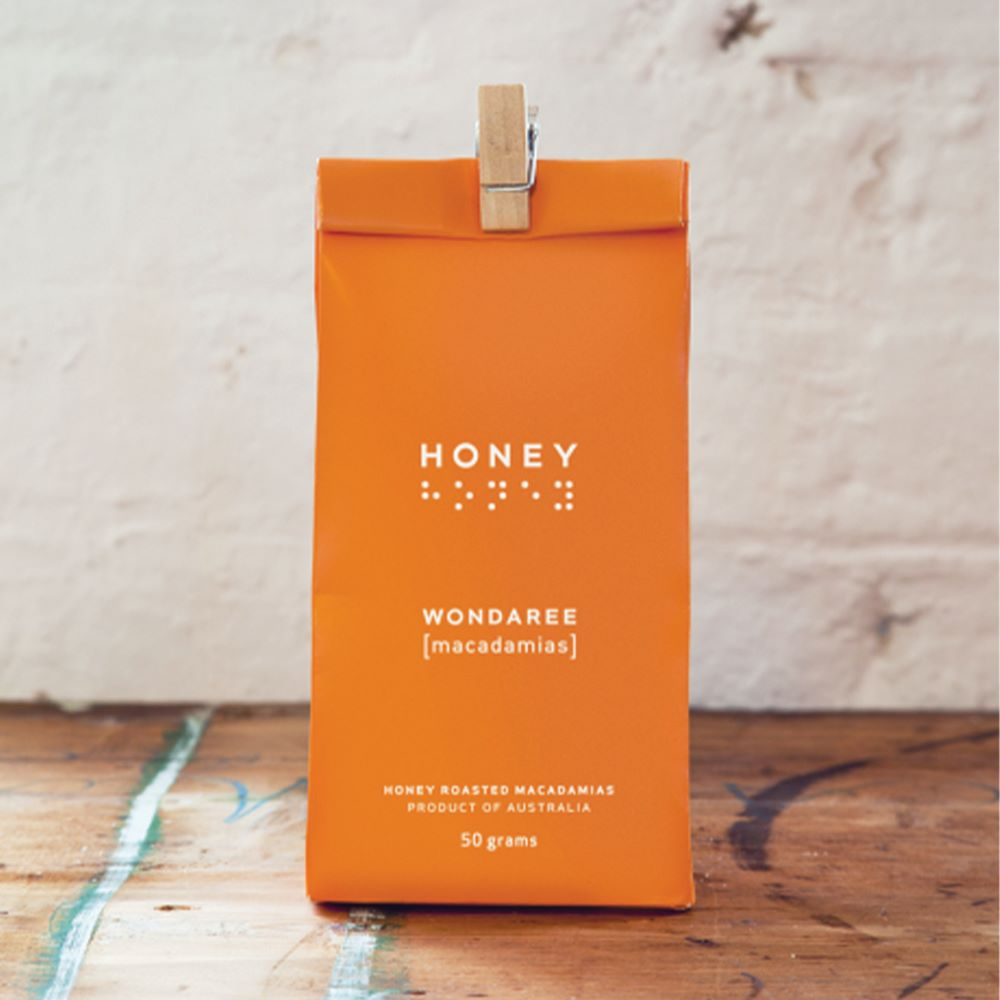 WONDAREE MACADAMIAS: Honey Roasted