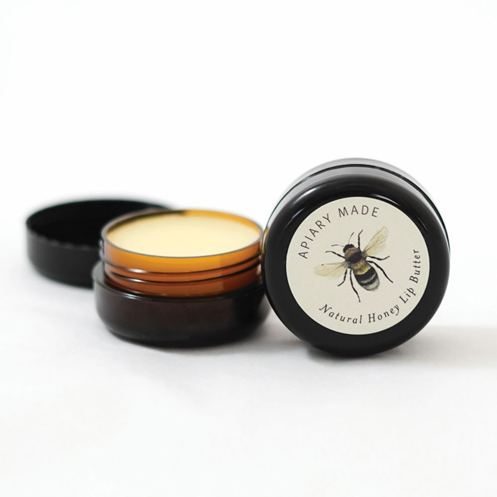 APIARY MADE: Natural Honey Lip Butter