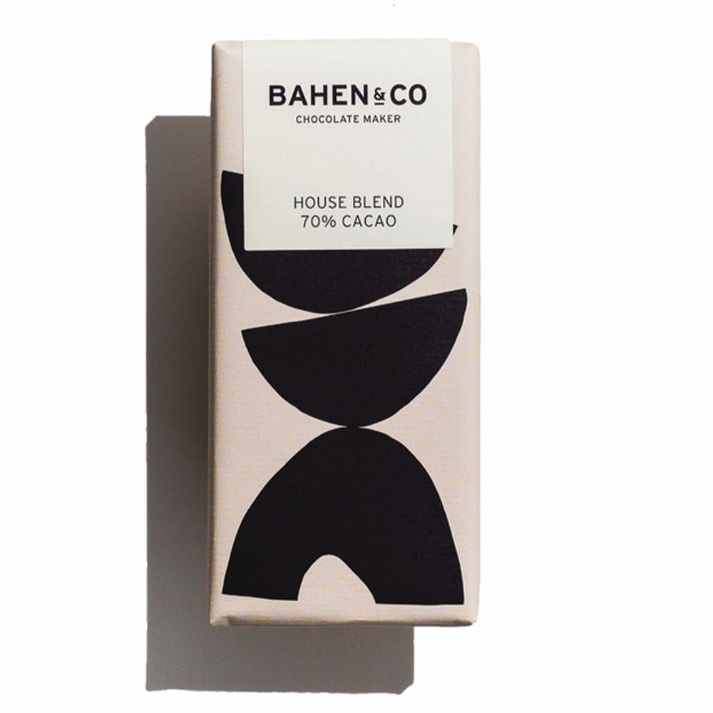 BAHEN & CO CHOCOLATE: House Blend 70%