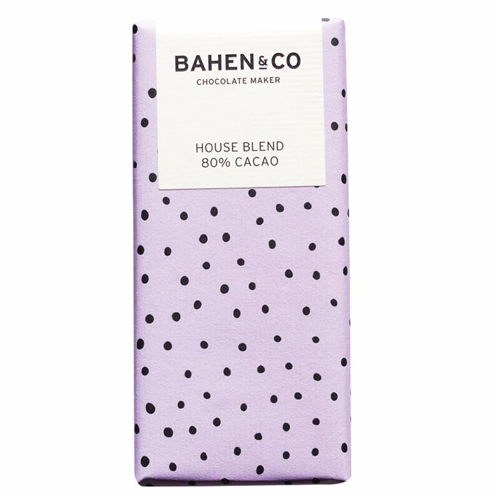 BAHEN & CO CHOCOLATE: House Blend 80%