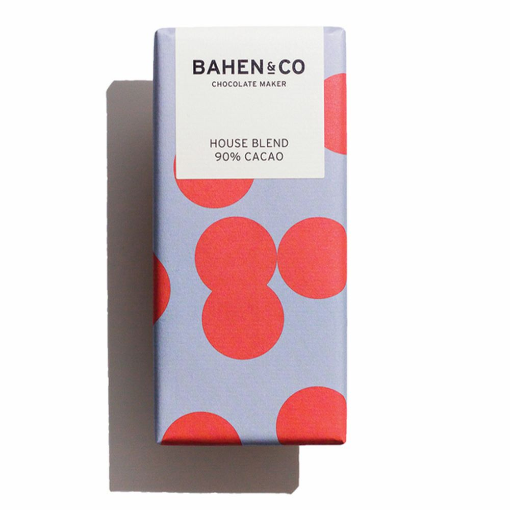BAHEN & CO CHOCOLATE: House Blend 90%