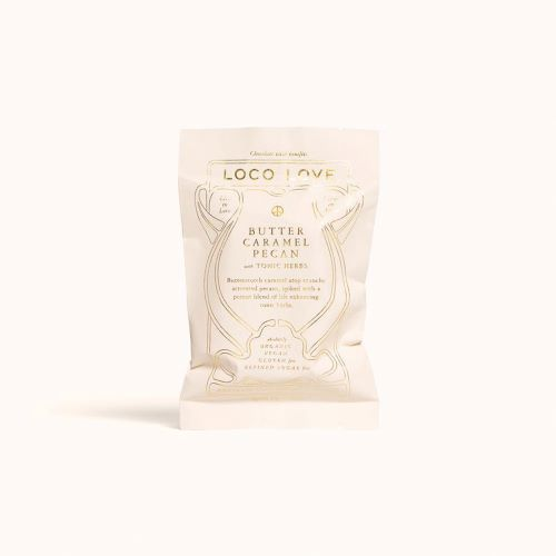 LOCO LOVE CHOCOLATE: Butter Caramel Pecan