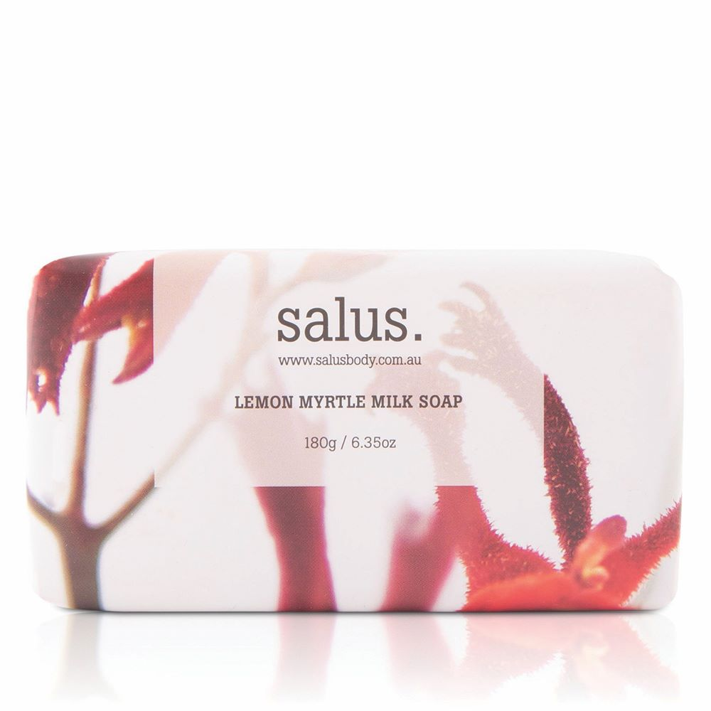 SALUS: Lemon Myrtle Milk Soap