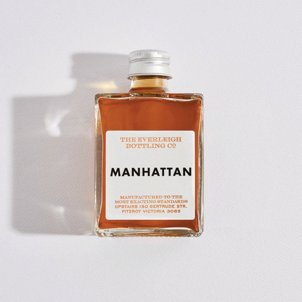 THE EVERLEIGH BOTTLING CO: Bottled Cocktail - Manhattan