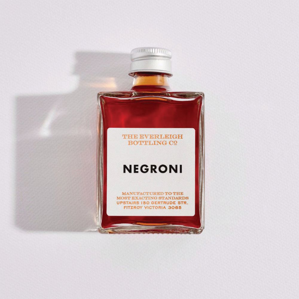 THE EVERLEIGH BOTTLING CO: Bottled Cocktail - Negroni