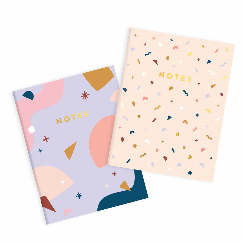 FOX & FALLOW: Pocket Notebook - Confetti / 2 Pack