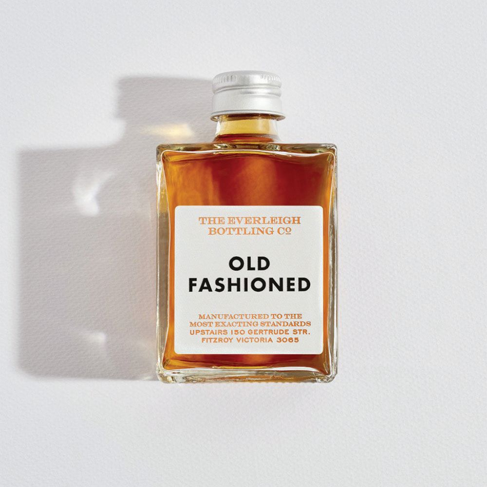 THE EVERLEIGH BOTTLING CO: Bottled Cocktail - Old Fashioned