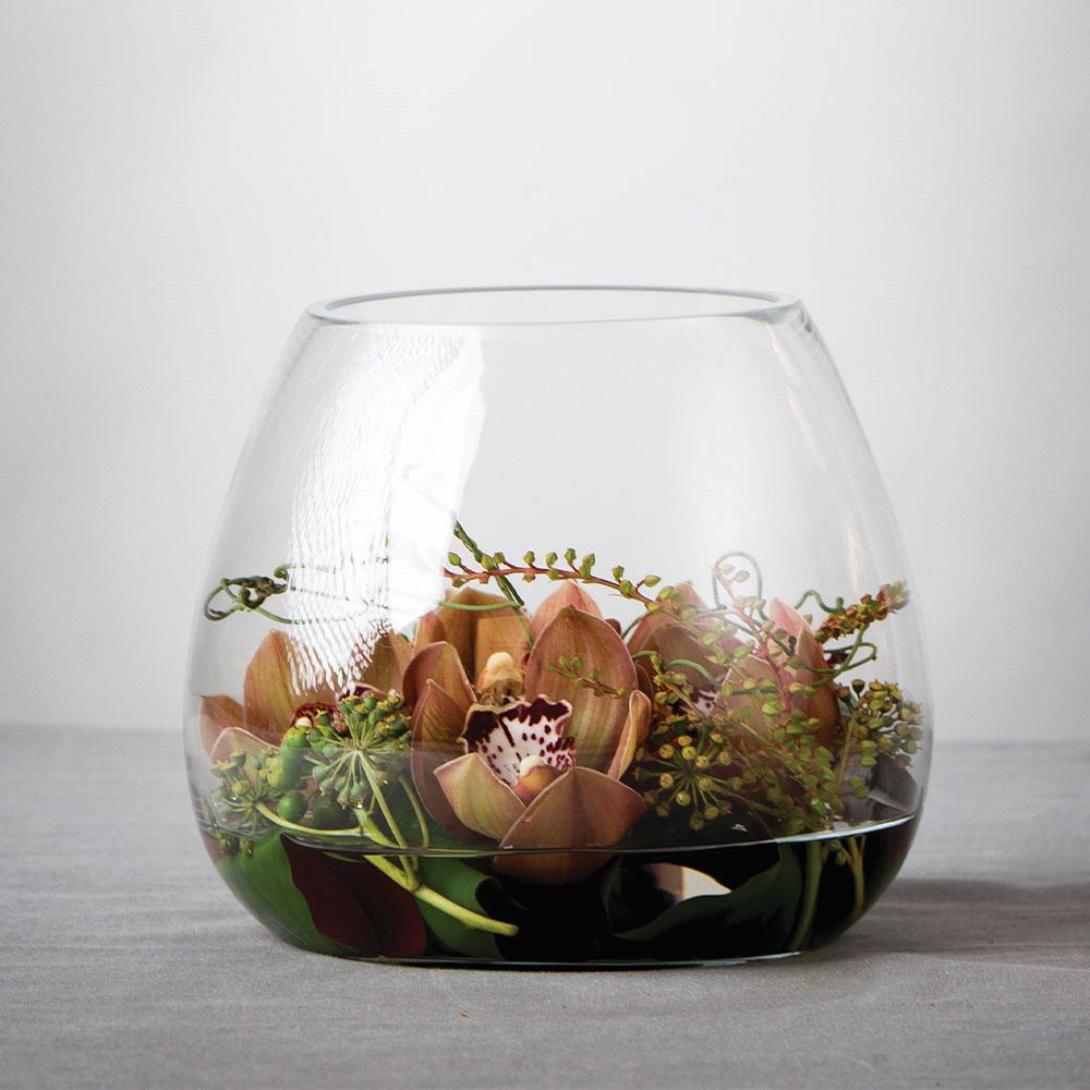 ORCHID BOWL: Florist Choice