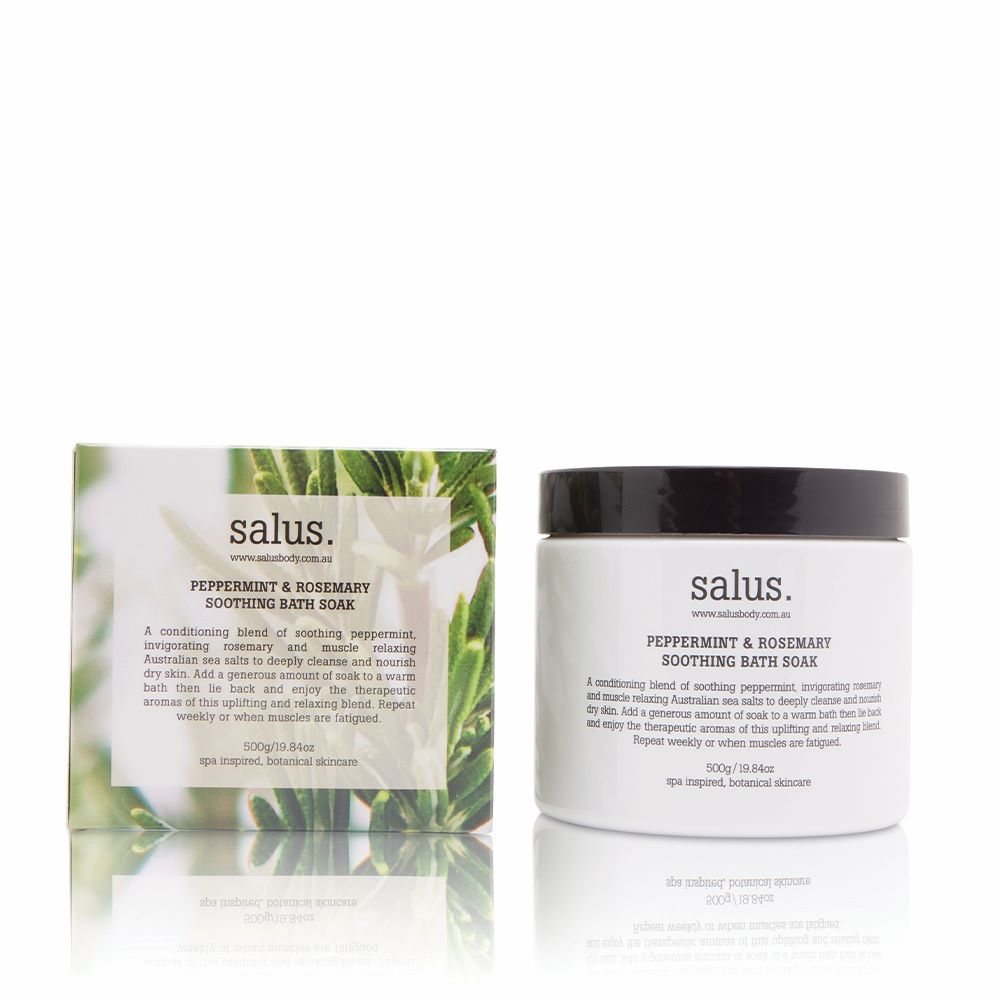 SALUS: Peppermint & Rosemary Soothing Bath Soak
