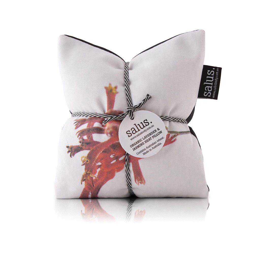SALUS: Heat Pillow - Red Botanical Lavender & Jasmine