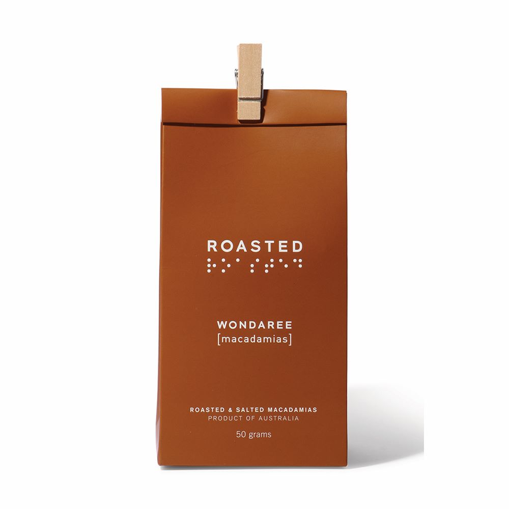 WONDAREE MACADAMIAS: Roasted & Salted