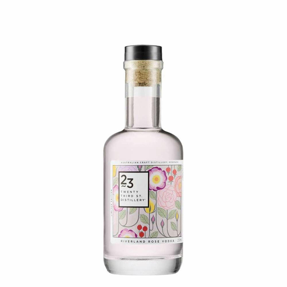 23RD STREET DISTILLERY: Rose Vodka