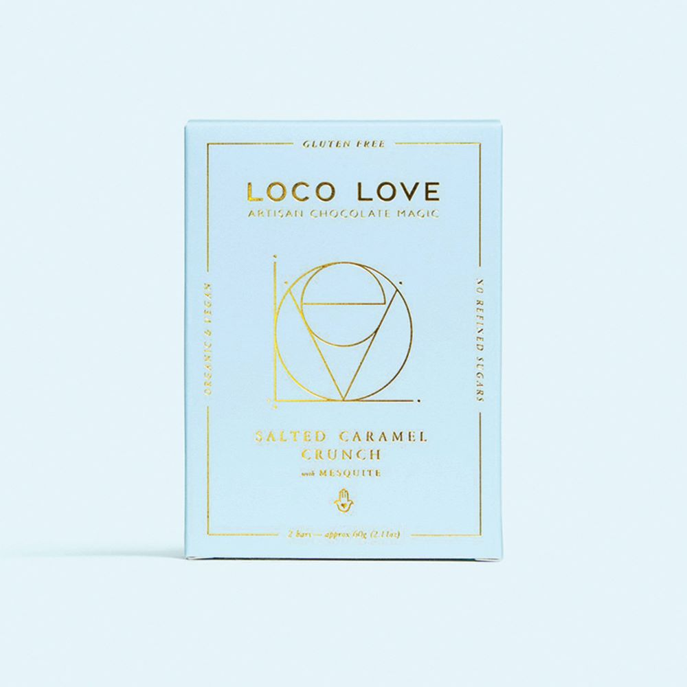 LOCO LOVE CHOCOLATE: Salted Caramel Crunch