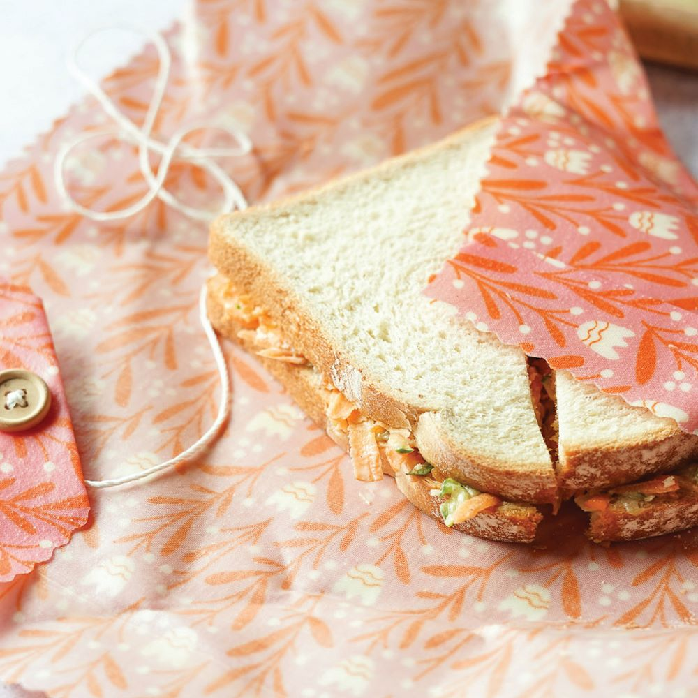 APIARY MADE: Beeswax Food Wraps - Sandwich Wrap