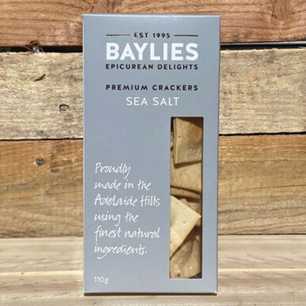 BAYLIES: Premium Crackers - Sea Salt