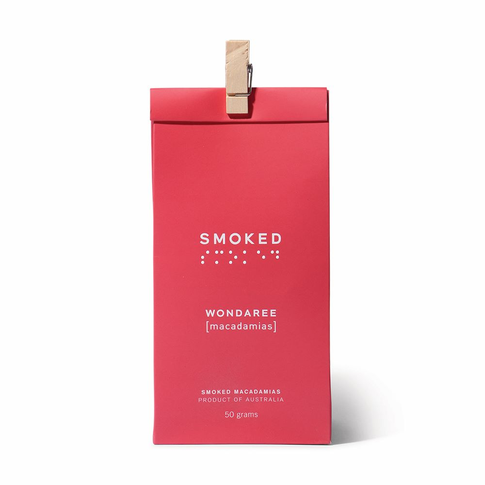 WONDAREE MACADAMIAS: Smoked