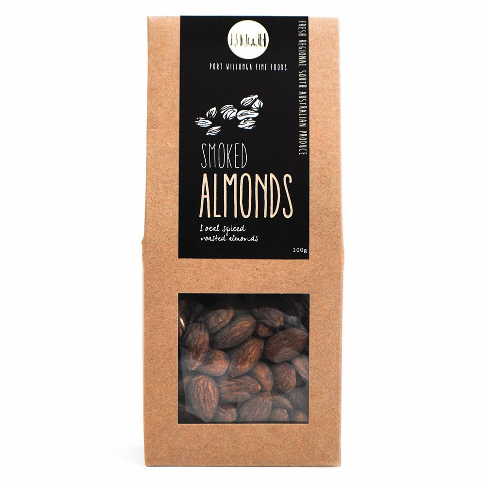 PORT WILLUNGA FINE FOODS: Smoked Almonds