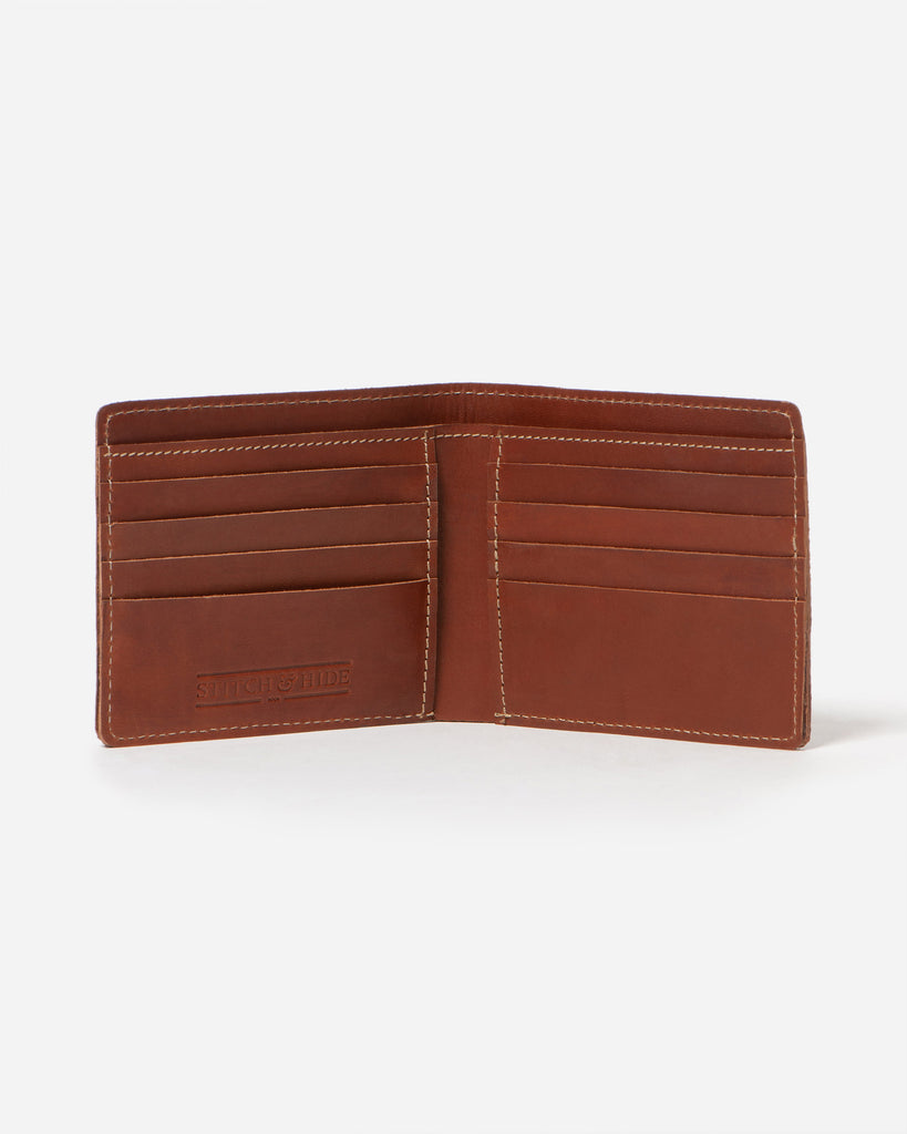 STITCH & HIDE: Connor Wallet / Tan