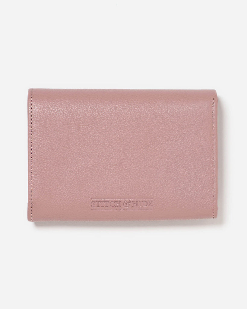 STITCH & HIDE: Ellie Wallet - Dusty Rose