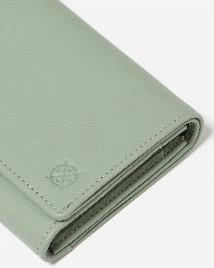 STITCH & HIDE: Ellie Wallet - Sage