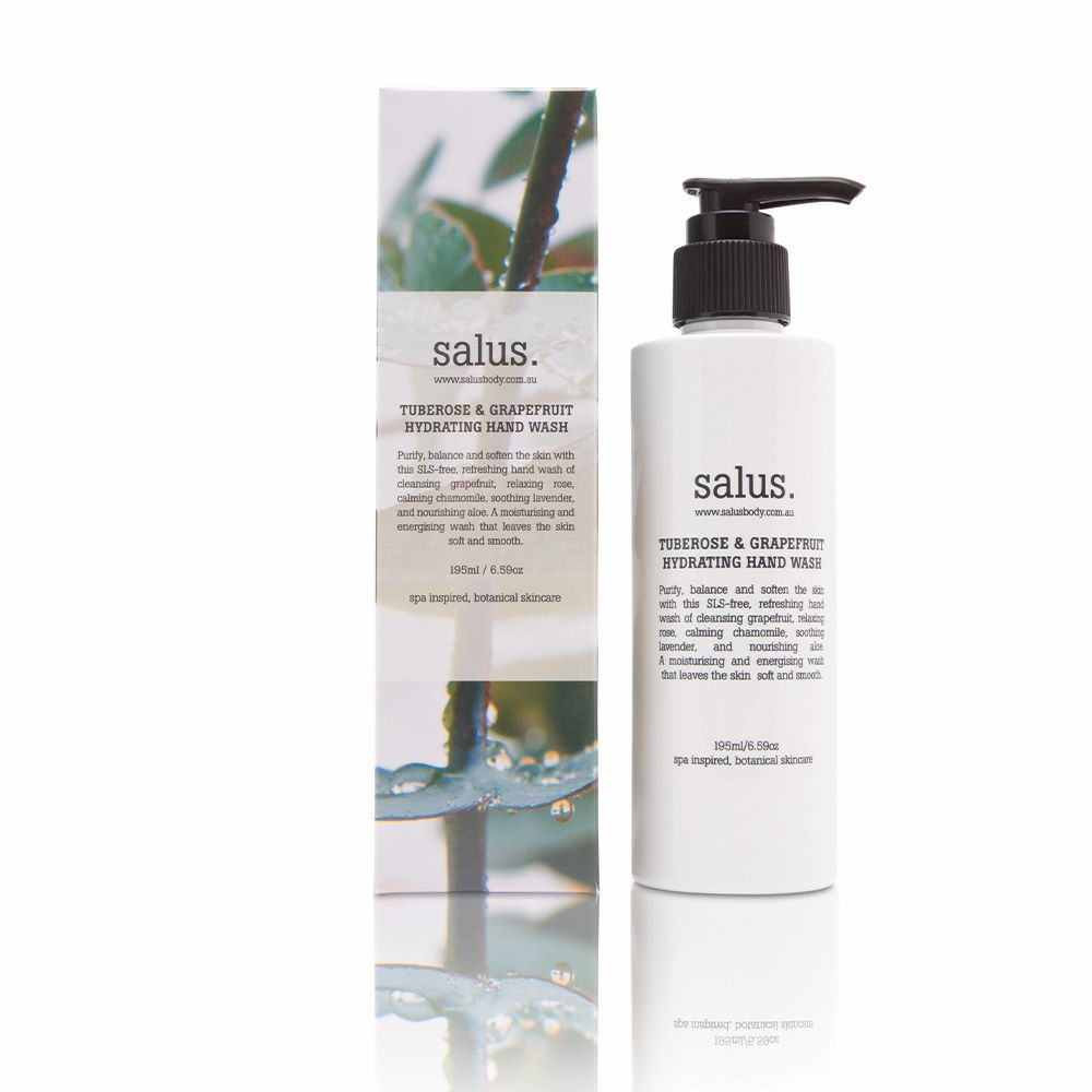 SALUS: Tuberose & Grapefruit Hydrating Hand Wash