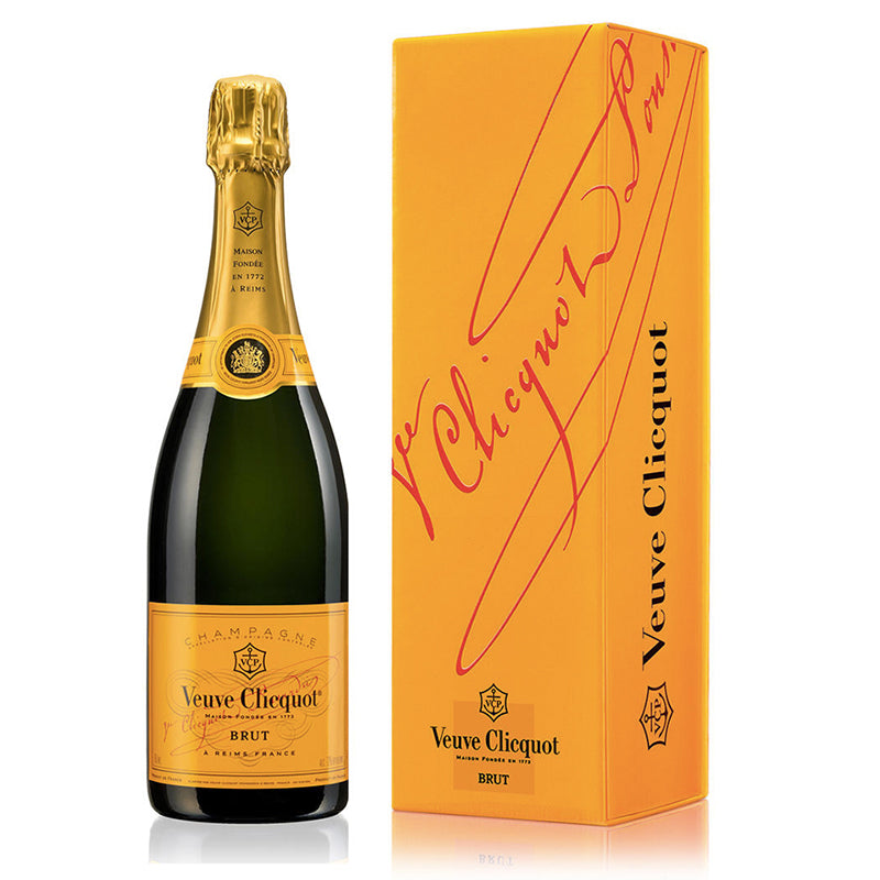 VEUVE CLICQUOT: Brut Yellow Label (NV)