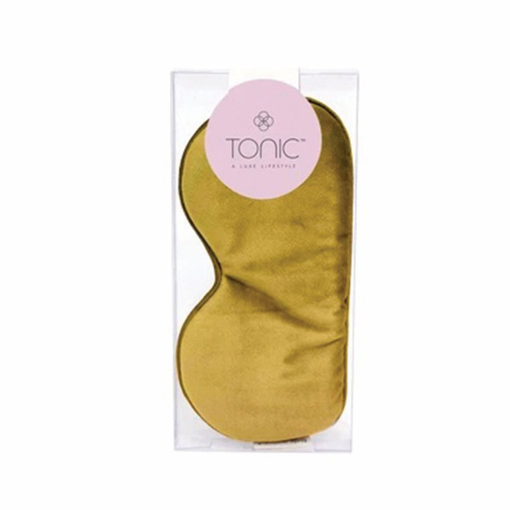 TONIC: Eye Mask - Luxe Velvet / Ochre