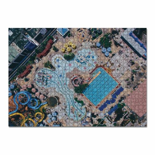 JOURNEY OF SOMETHING: 1000 Piece Puzzle - The Drone Edition / Waterpark