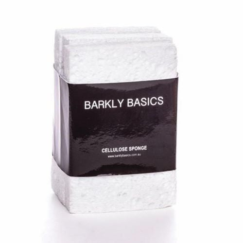 BARKLY BASICS: White Cellulose Sponge