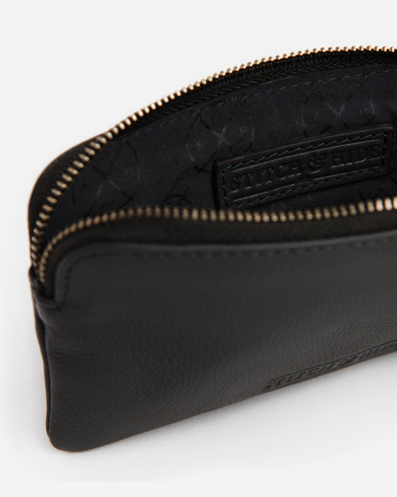 STITCH & HIDE: Lucy Pouch - Black