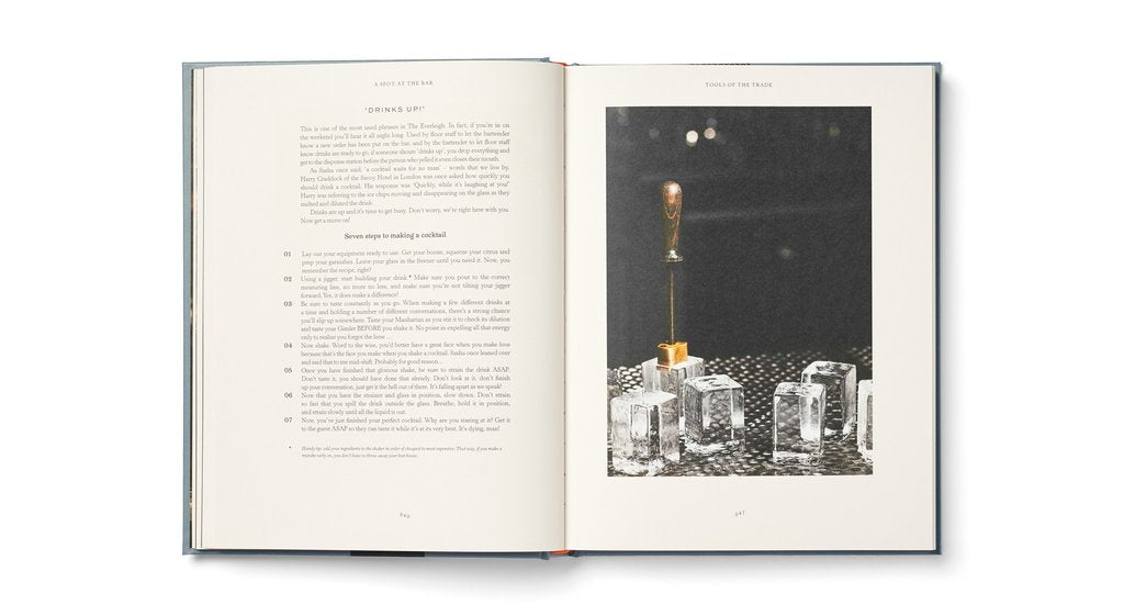 THE EVERLEIGH BOTTLING CO: A Spot at the Bar - Cocktail Book