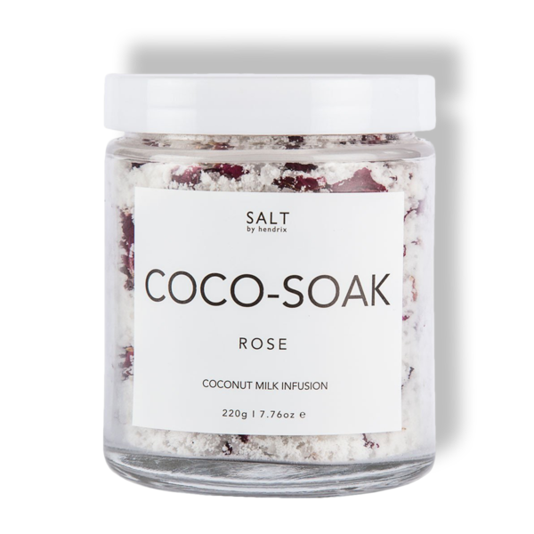SALT BY HENDRIX: COCO SOAK - ROSE