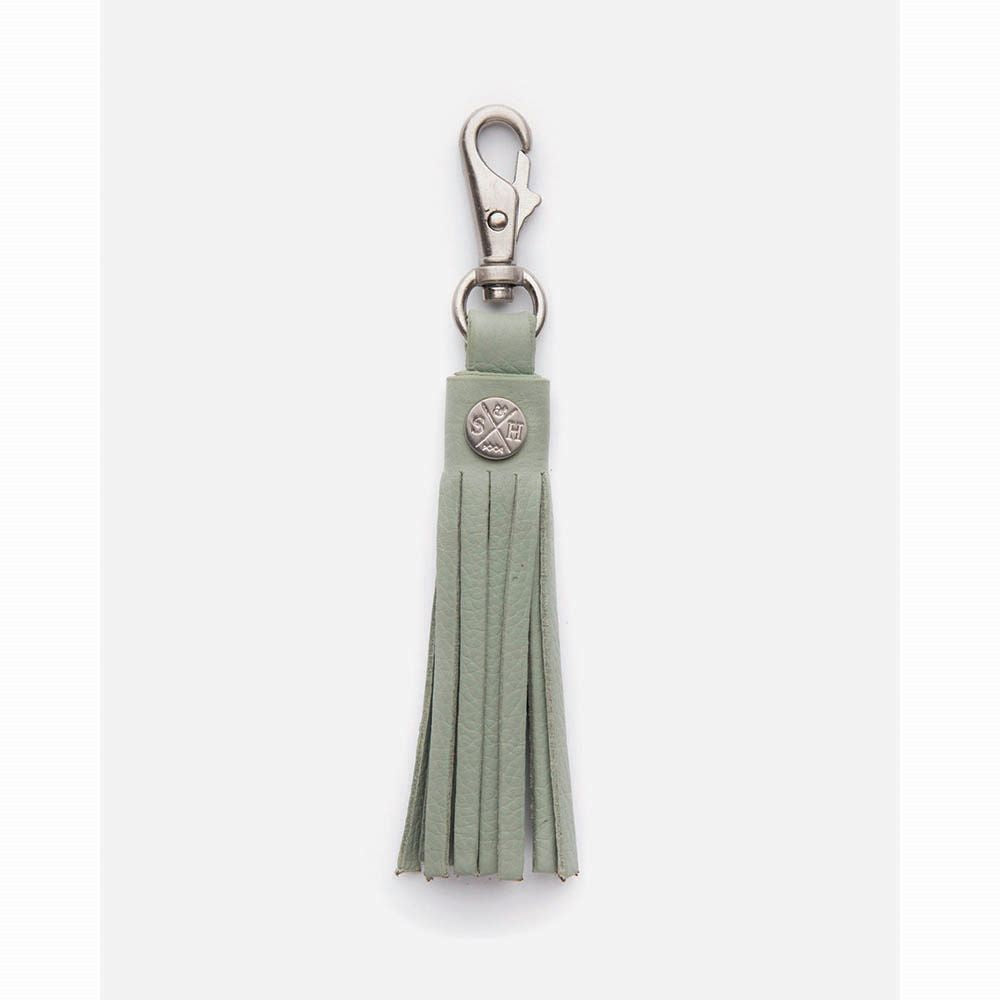 STITCH & HIDE: Leather Tassel - Sage