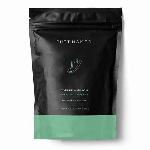 BUTT NAKED: Body Scrub - Coffee + Epsom