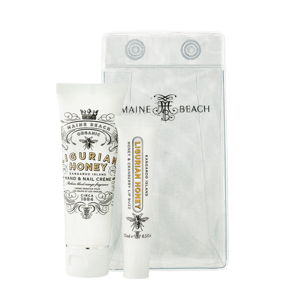 MAINE BEACH: Essentials Pack - Organic Ligurian Honey