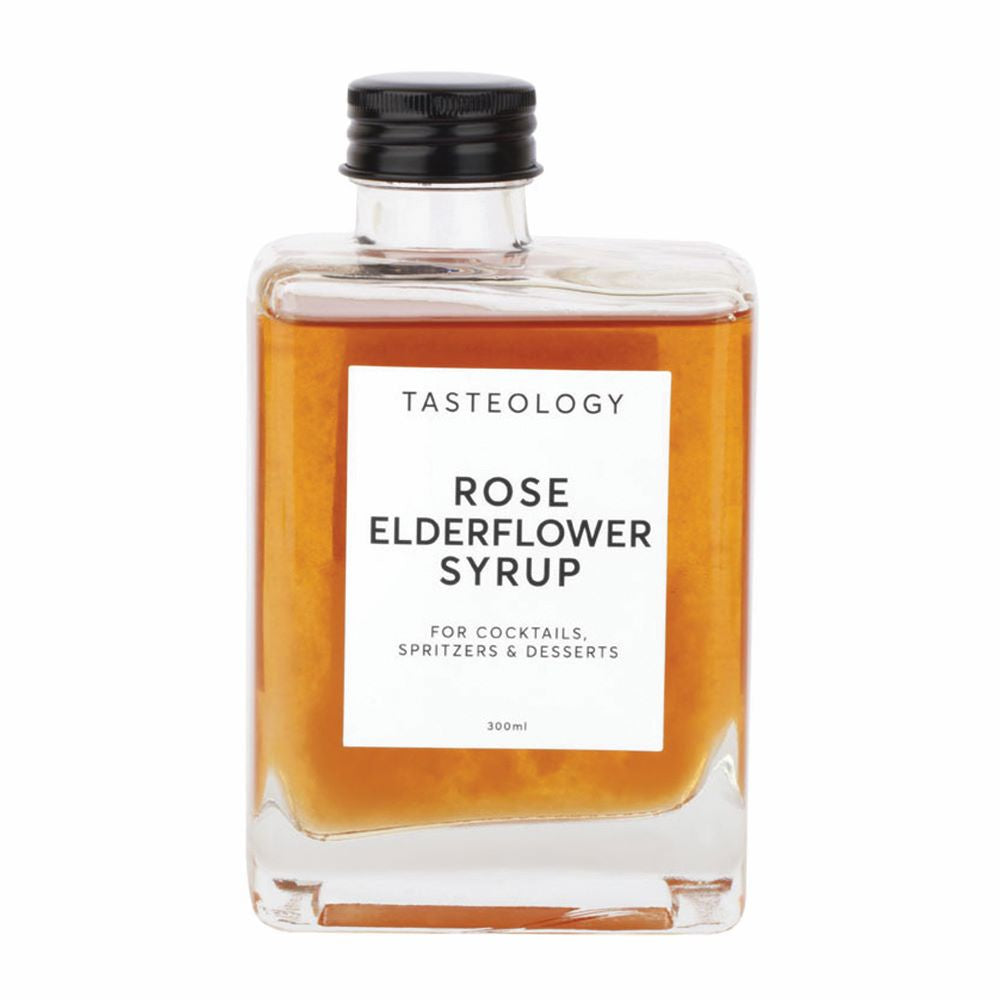 TASTEOLOGY: Rose & Elderflower Syrup