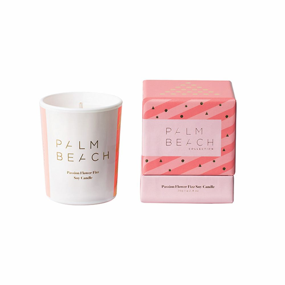 PALM BEACH: Christmas Mini Candle - Passion Flower Fizz