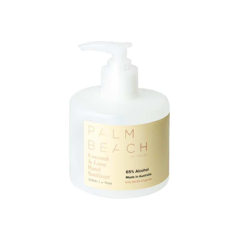 PALM BEACH: Hand Sanitiser - Coconut & Lime