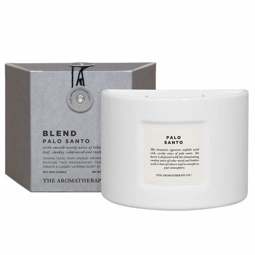 THE AROMATHERAPY CO: Blend Candle - Palo Santo
