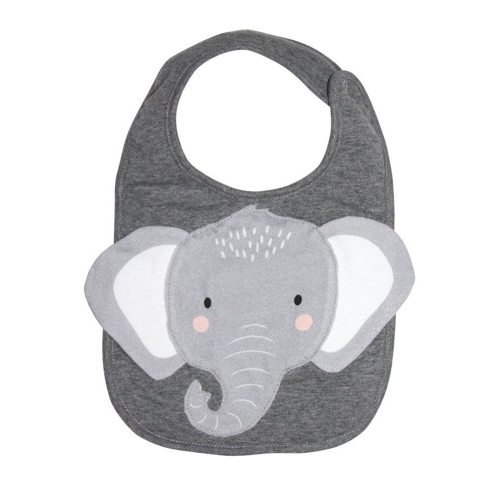 MISTER FLY: Bib - Grey Elephant