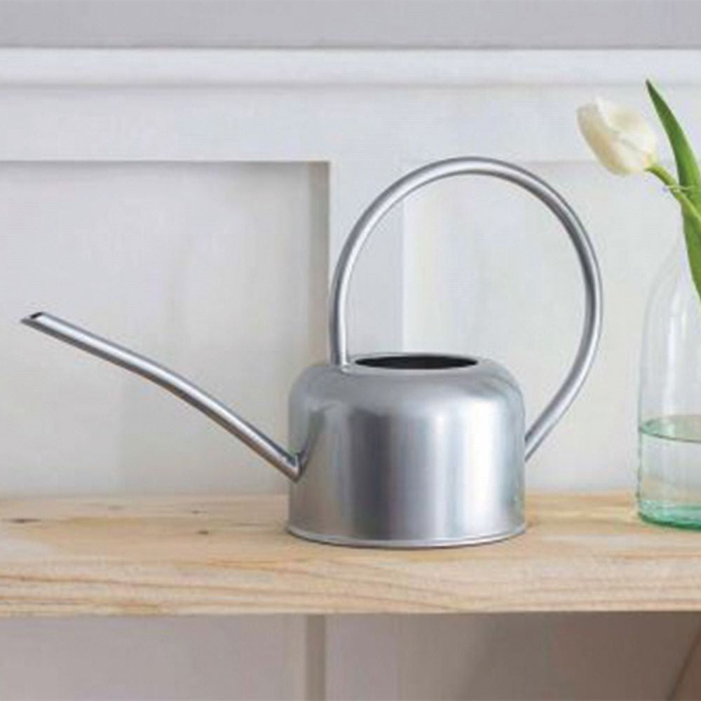 GARDEN TRADING: Indoor Watering Can 1.1L - Silver