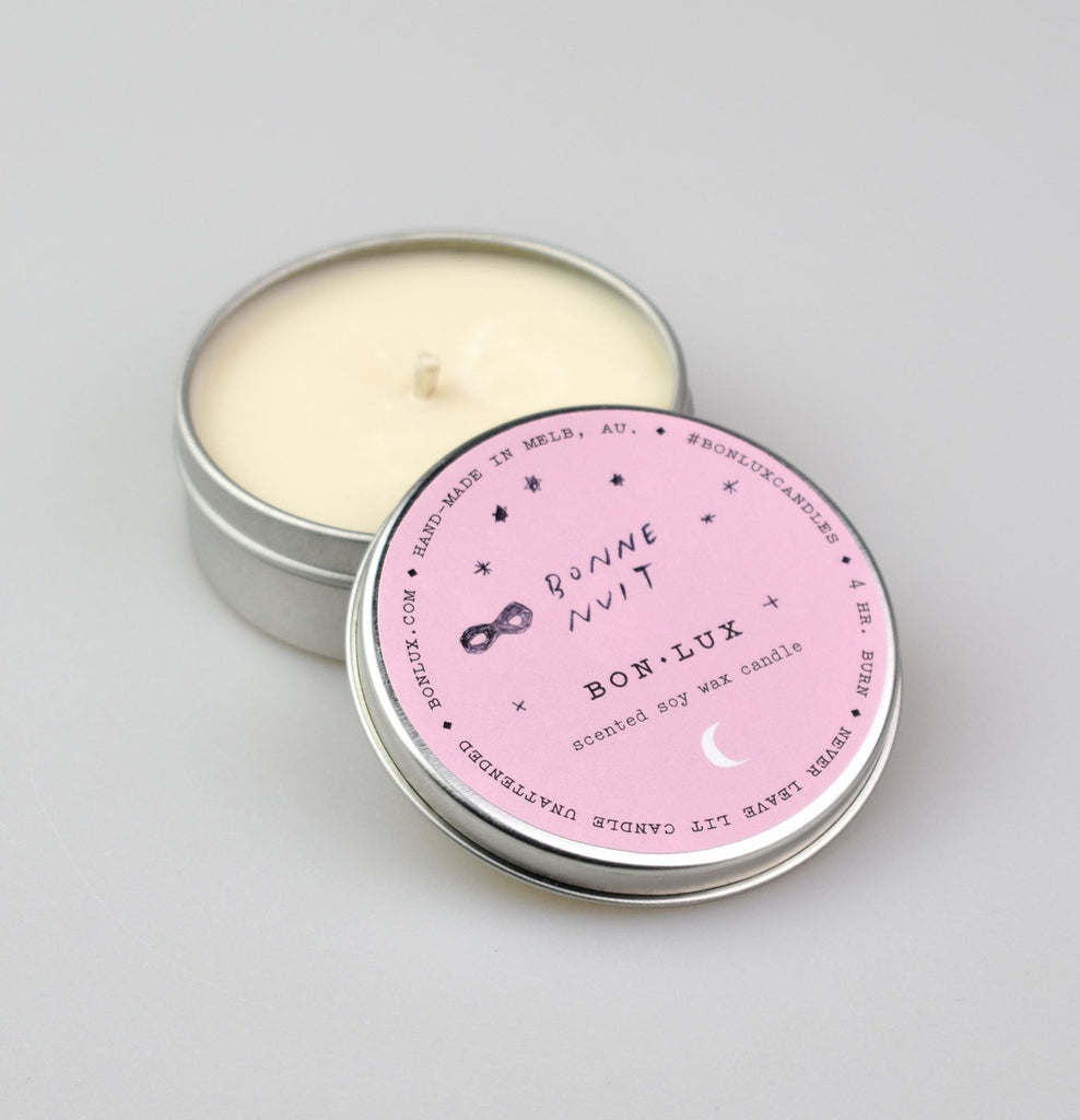 BON LUX: Travel Tin Candle - Bonne Nuit