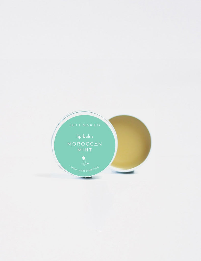 BUTT NAKED: Lip Balm - Moroccan Mint