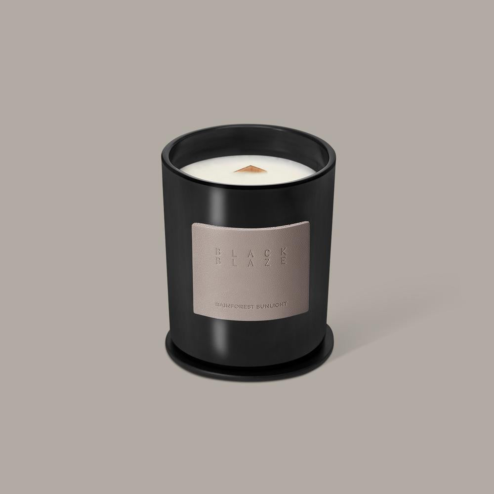 BLACK BLAZE: Scented Candle - Rainforest Sunlight