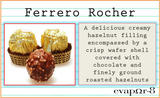 "- eVAPOR-8 PROJECT -  ""FERRERO ROCHER""  (100ML)"