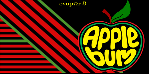 "100ML - eVAPOR-8 PROJECT -  ""APPLEBUM"""