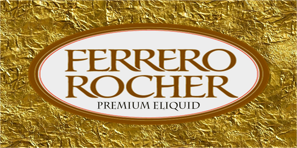 "100ML - eVAPOR-8 PROJECT - ""FERRERO ROCHER"""