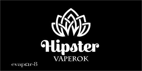 "100ML - eVAPOR-8 PROJECT -  ""HIPSTER"""