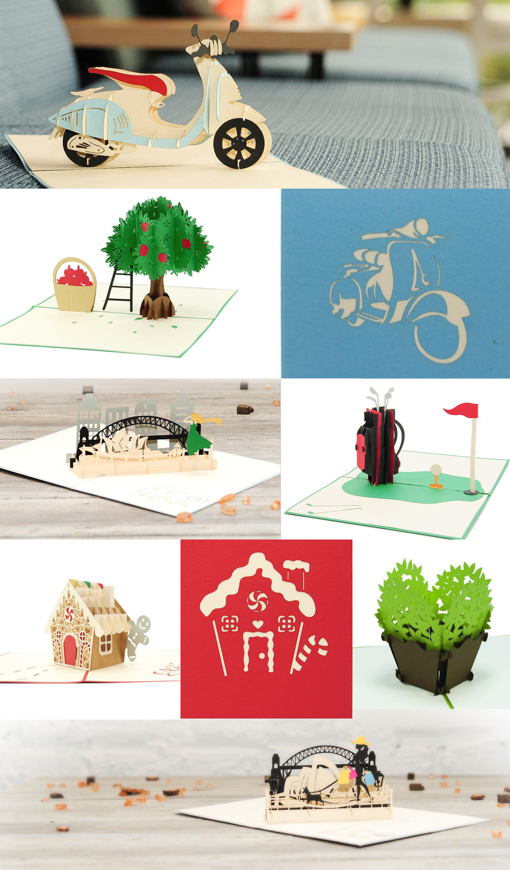 3D Pop up Cards