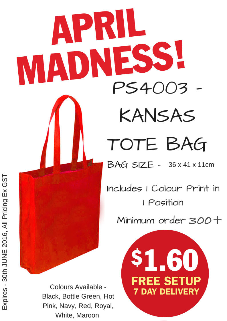 April Tote Bag Special
